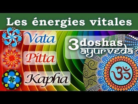 Les 3 doshas ✤ Théorie des énergies vitales en ayurvéda ❘  Vata, Pitta, Kapha ❘ Yoga