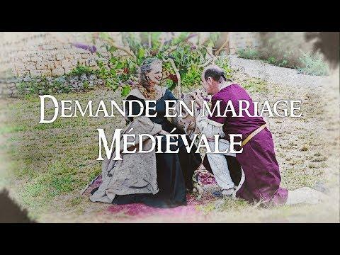 Demande en mariage originale - Mariage Médiéval - Medieval Love Story Elopement - Trône bois flotté