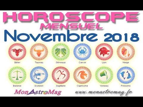 Votre vidéo horoscope de Novembre 2018