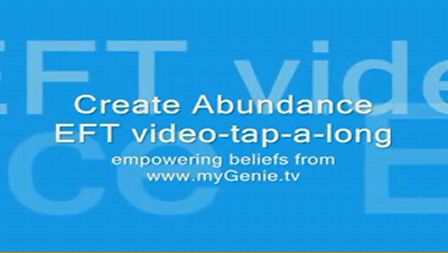 EFT Tapping Create Abundance Affirmations