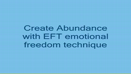 Law of Attraction EFT Create Abundance www.myGenie.tv