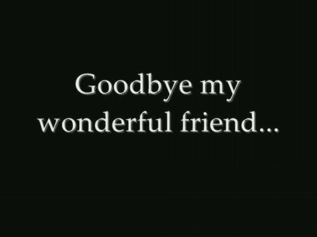 RIP My Good Friend