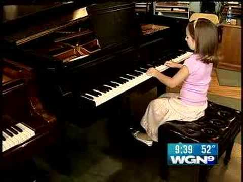 6 year old Emily Bear - the next Mozart