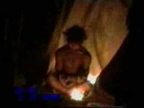 Buddha Boy Bathes in Fire