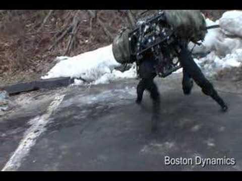Boston Dynamics: Big Dog.