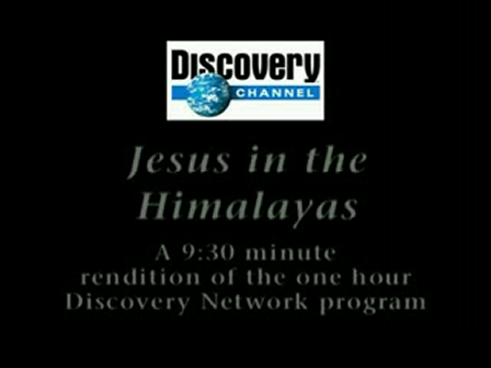 Jesus in the Hymalayas