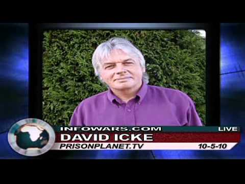 David Icke: Human Race, Get Off Your Knees! - Alex Jones TV 3/5 ~ October 5, 2010