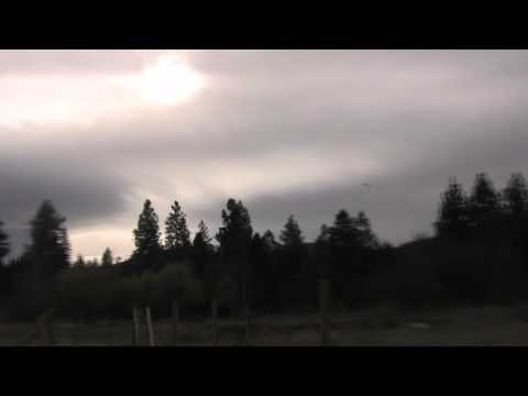 UFO followed by Jet - ECETI Ranch