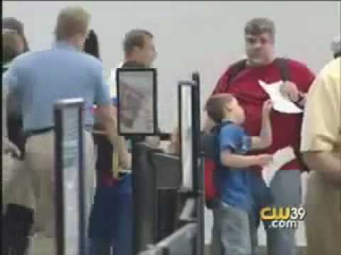 TSA scares and violates child's personal space
