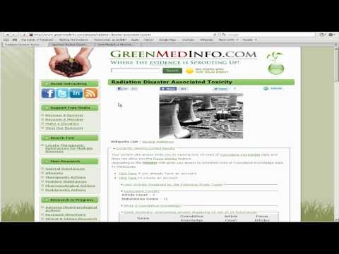 Mitigating Japanese Nuclear Radiation Exposure Toxicity - GreenMedInfo.com Information