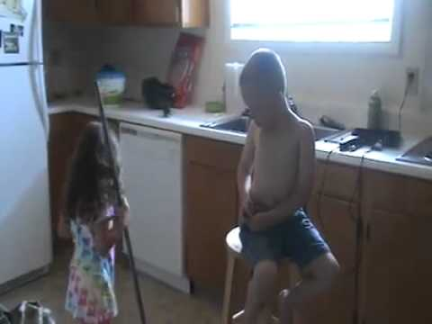 Kids fighting cause she wants to marry him SO FUNNY!!!!