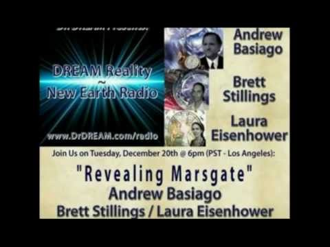 "Andrew D. Basiago, Brett Stillings & Laura M. Eisenhower Dream Reality ""Revealing Marsgate"""