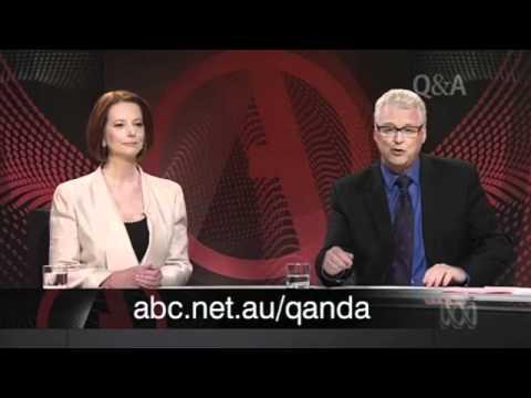 Julian Assange grills Julia Gillard on live television