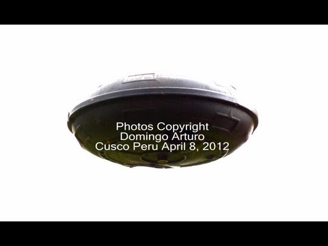 UFO Sightings Easter Day Peru Massive Mothership Very Clear Footage! April 8, 2012