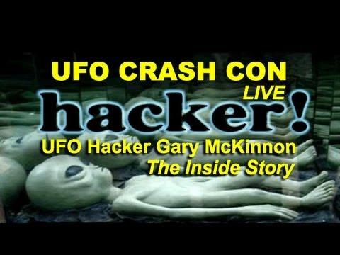 UFO Crash Con - UFO Hacker Gary McKinnon - Inside Story