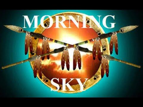 Robert Morning Sky with Lisa Harrison