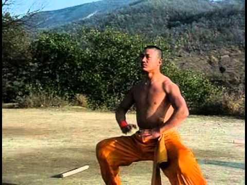 Shaolin warrior training