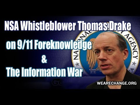NSA Whistleblower was Witness to 9/11 Foreknowledge