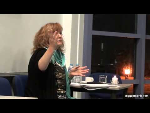 Magenta Pixie speaks at Highcliffe and New Forest Positive Living Group
