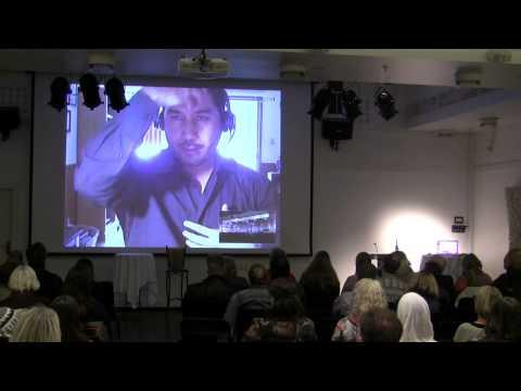 Enrique Villanueva, International UFO conference 10.-12. of October 2014, in Bergen, Norway