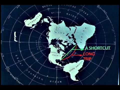 THE FLAT EARTH - BELOW THE EQUATOR