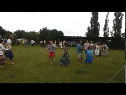 Eco-Festival in Kin's village Vedrussia, Russia, Krasnodar region.
