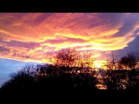 Stunning sunset: Beyond the Heavens...