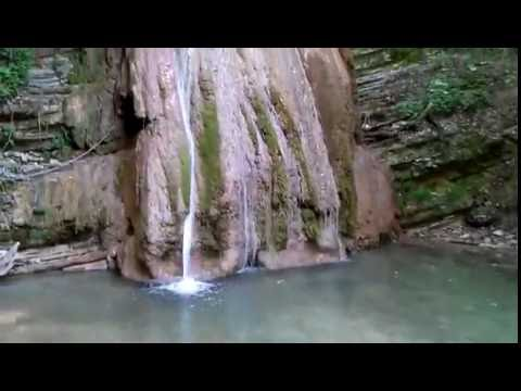 A waterfall: beauty and purity of Vedic Russia!