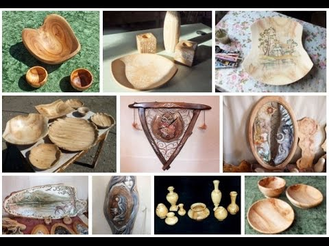 Fantastic woodcrafts from Russia - true works of art!