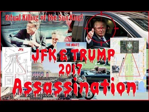 Inauguration JFK Trump Assassination 2017 Procession Sacrifice Killing of the Sun God