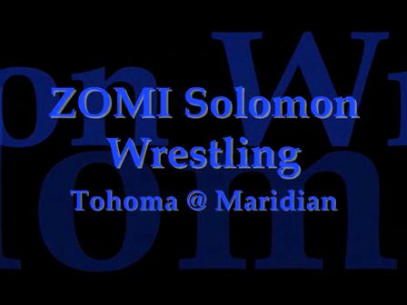ZOMI Solomon Wrestling