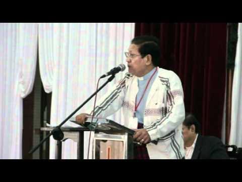 GZA Khawmpi Thu Kong Honna, President Dr Simon Pau Khan En