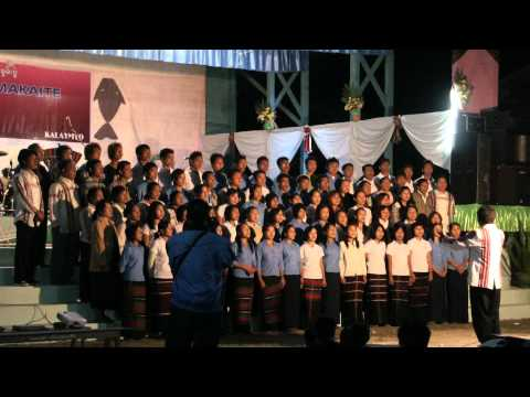 GZA Khawmpi Choir conducted by Rev Tuan Khan Mung