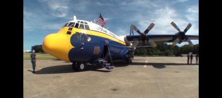 VBNightlife Flies with The Blue Angels in Patriotic Festival Air Show