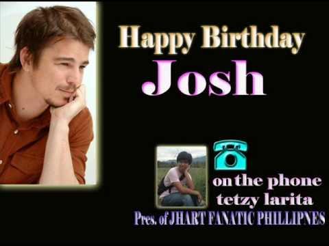 happy birthjday josh