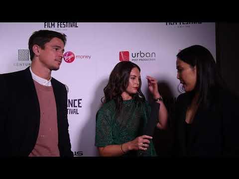 Josh Hartnett & Atsuko Hirayanagi Interview | Raindance 25 Opening Night Red Carpet
