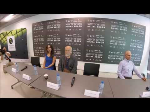 Press conference video Valley of the Gods Lech Majewski, with the participation of actors
