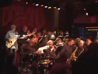 """The Birdland Big Band with Will Lee: """"Bluer Than Blue"""" Arranged Don Sebesky"""