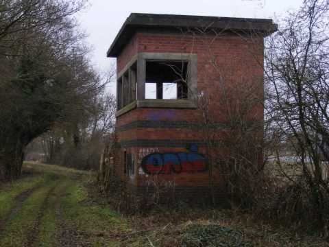 Line Tour 23 Jan 11 - Broom West Junction Austerity wartime signal box