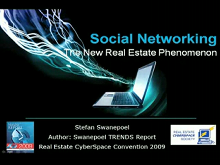 """Stefan Swanepoel - """"Social Networking -The New Real Estate Phenomenon"""""""