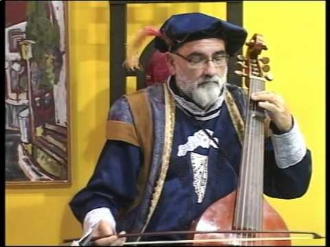 Duo Continuo Romania (Nicolae Szekely - lute, Mircea Goian - viola da gamba) - Greensleeves.mpg