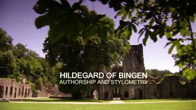 "Documentary: ""Hildegard of Bingen: Authorship and Stylometry"" [HD]"