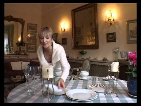 02-01. Обед европейский. Сервировка