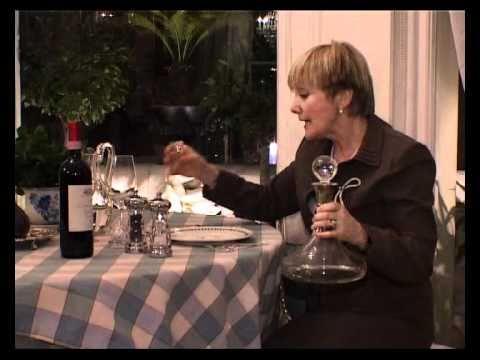 03-05. Немного о вине. Вино в завершении обеда.