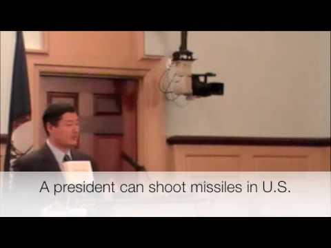 John Yoo: A President Can Nuke the US