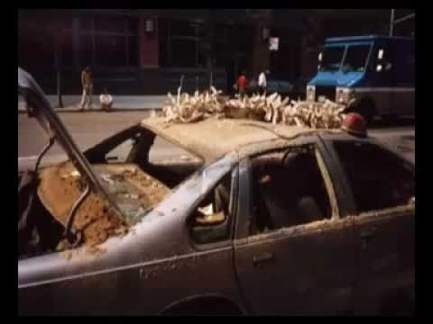 9/11 Toasted Cars - Chuck Boldwyn's research finds they are all result of highly specifically Chemically Reactive Thermate Particles found by the millions/billions in expanding and heated dust clouds