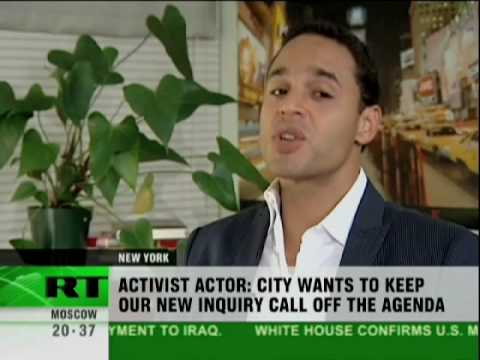 "Daniel Sunjata (""Rescue Me"": Actor): 9/11 was an inside job (part 1) - Great Points brought out (A Must View!!)"