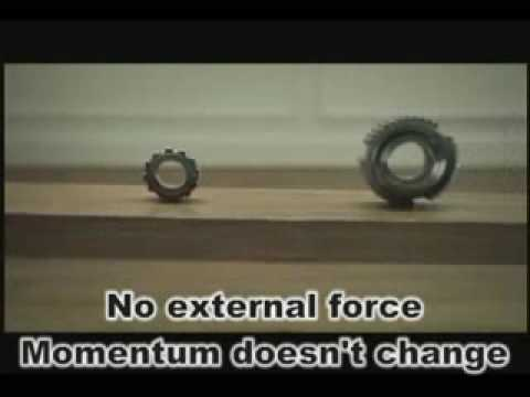 Momentum in Physics (Watch the complete video to see how Momentum and Energy is Conserved)