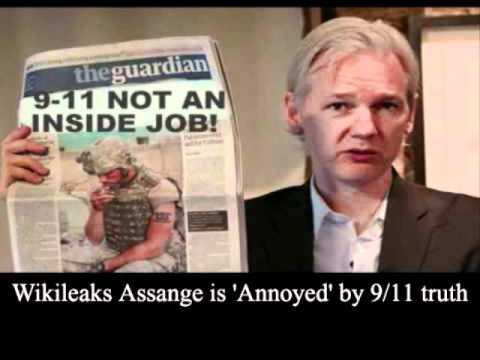 Totally Disgusting & Shocking:  Assange: Master of Truth 'Annoyed' by 9/11 Truthers?