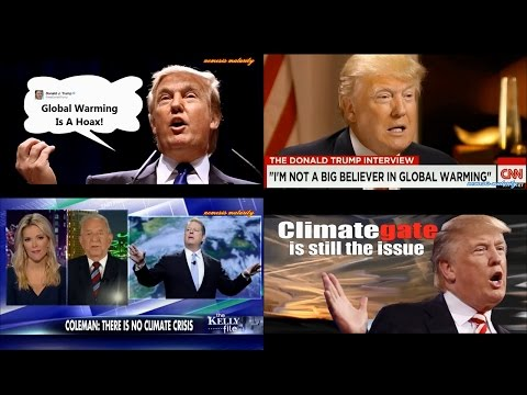 """Trump: """"Global Warming Is A Hoax"""", Over 30,000 Scientists Agree with Trump"""